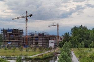 Schnelleinsatzkran für Baustellen in Berlin